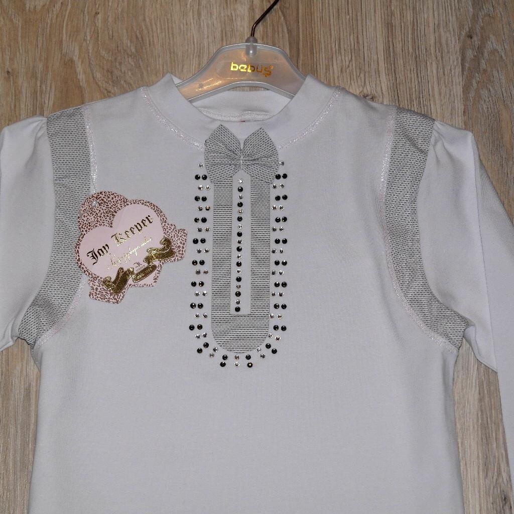 Блузка белая на девочку купить