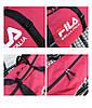Городской рюкзак Fila розовый (реплика), фото 2
