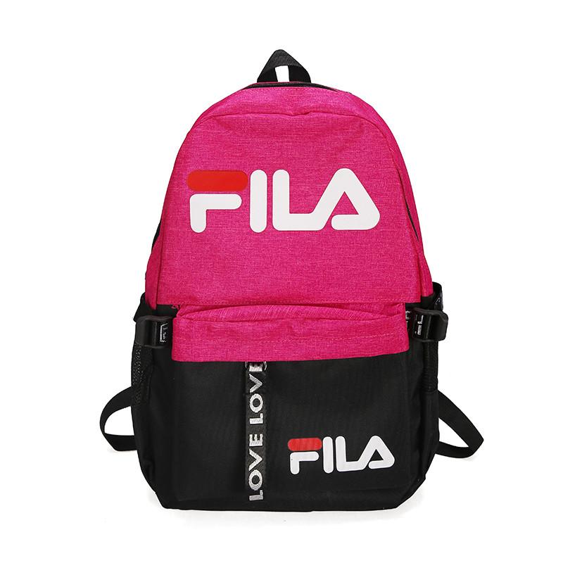 Городской рюкзак Fila розовый (реплика)