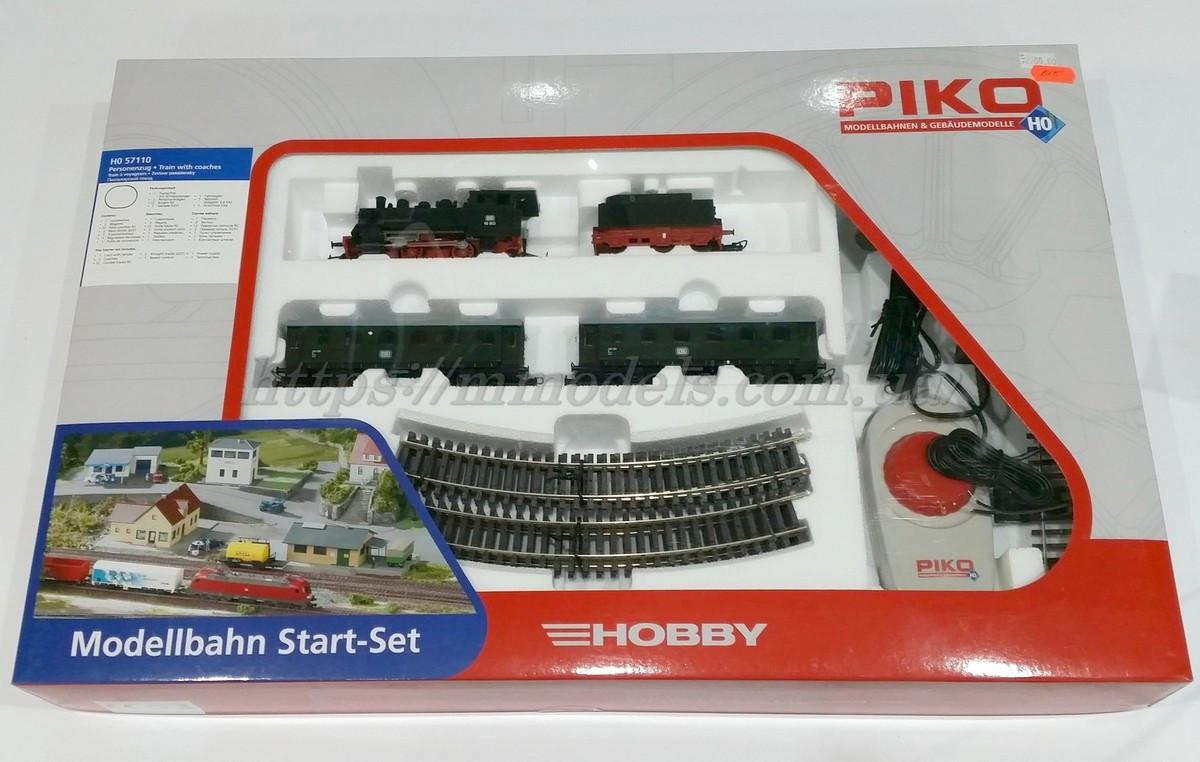 Детская Железная дорога PIKO 57110  Стартовый набор пассажирский поезд / H0