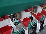 Сеялка для мототрактора, 6-и рядная, с бункером, фото 4