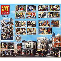 Конструктор Lele 30019 Городская площадь. Креатор  (аналог Lego Creator Expert10255), фото 3