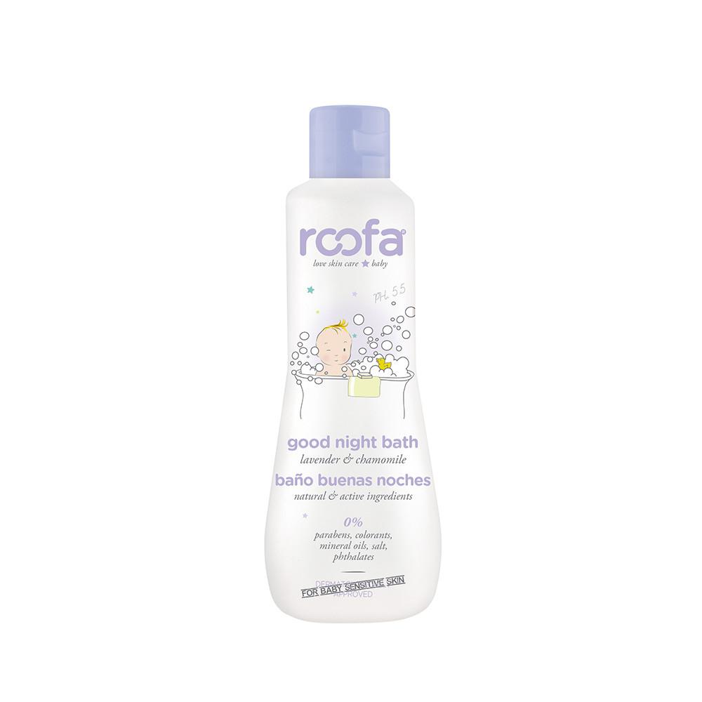Вечернее средство для ванны с лавандой и ромашкой ROOFA