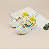 Кроссовки детские желтые