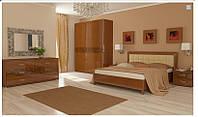 Спальня Флора вишня бюзум МіроМарк / Спальный гарнитур Flora MiroMark