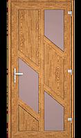 Пластиковые  двери  с ламинацией, фото 1