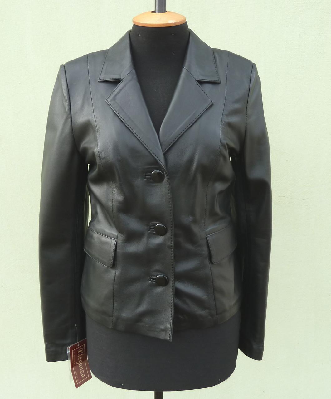 Куртка шкіряна жіноча NIKA розмір M