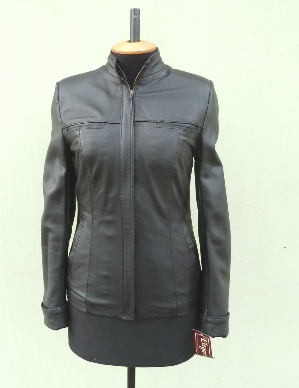 Куртка кожаная женская JULIA размер L