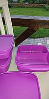 Ланч-бокс Школьник с разделителем (4,5*15*15 см) Tupperware, фото 1