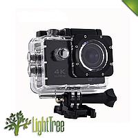 Спортивная водонепроницаемая экшн камера 4K DVR SPORT S2 Wi Fi