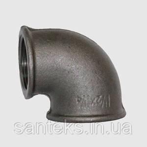 Уголок чугунный диаметр 50 внутренняя/внутренняя резьба