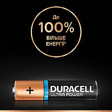 Батарейка DURACELL AAA (LR03) KPD 02*10 Ultra уп. 1x2 шт., фото 2