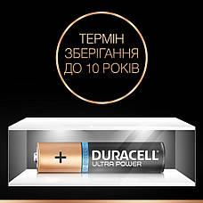 Батарейка DURACELL AAA (LR03) KPD 04*10 Ultra уп. 1x4 шт., фото 3
