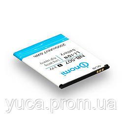 Аккумулятор для NOMI i507/NB-507 high copy