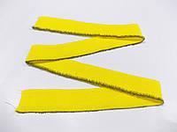 Резинка манжетная одинарная 4 см (желтый) (арт. 2043)