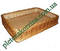 Лоток плетеный из лозы h5-60*50