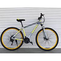 """Велосипед АЛЮМИНИЕВЫЙ 26 дюймов """"424"""" ЖЕЛТЫЙ(ORIGINAL SHIMANO)"""