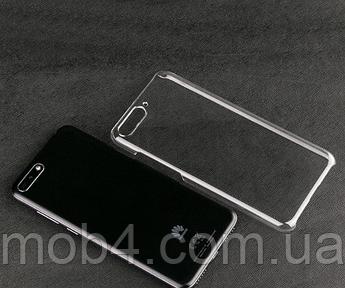 Прозорий силіконовий чохол бампер накладка для Huawei (Хуавей) Y6 2018