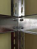 Стелаж металевий 1500х910х310/4пол ДВП 3.2мм, фото 8