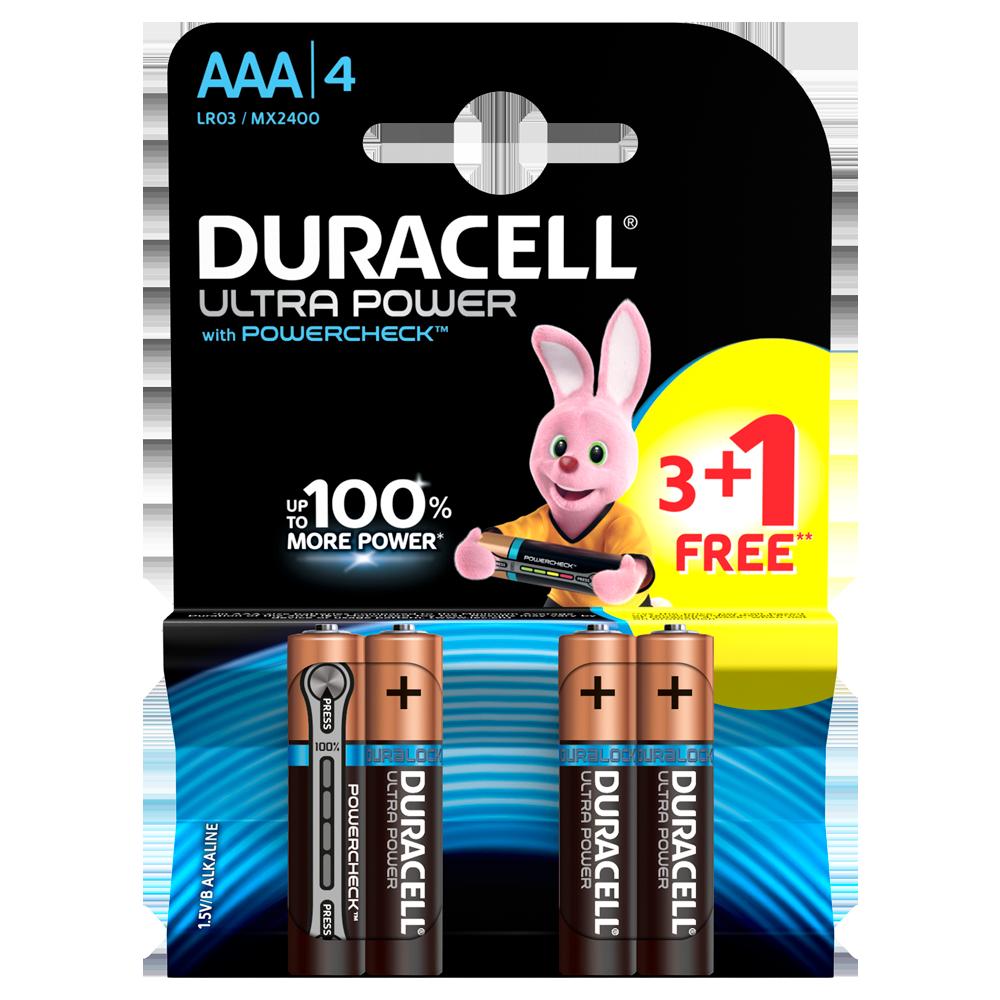 Батарейка DURACELL AAA (LR03)  Ultra уп. 1x12 шт.