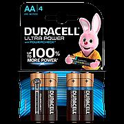 Батарейка DURACELL LR06 KPD 04*20 Ultra уп. 1x4 шт.