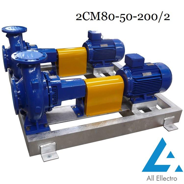 Насос 2СМ80-50-200/2 (насос 2СМ 80-50-200/2)