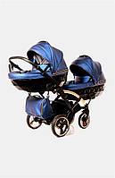 Дитяча коляска для двійнят Junama Fluo Line Duo Slim, фото 1