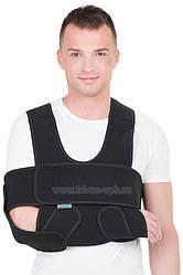 Бандаж на плечовий суглоб, на плече (пов'язка Дезо) Т-8193, Трівес Evolution (ортез, фіксатор для плеча, для
