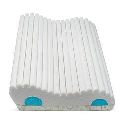 Ортопедична подушка під голову, для сну двошарова зі вставками ТОП-950 REST (ортопедична подушка)