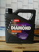 Моторное масло Teboil Diamond Diesel 5W-40 (4л.) для дизельных двигателей легковых автомашин и микроавтобусов