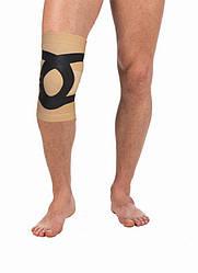 Наколінник, бандаж на коліно Т-8521, Трівес (еластичний фіксатор, ортез на колінний суглоб)