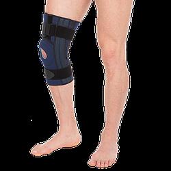 Наколінник, бандаж на коліно полуразъемный Т-8592, Тривес Evolution (ортез, фіксатор на колінний суглоб)