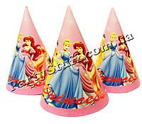Колпачки карнавальные Принцессы, 16 см