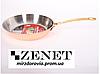 Медная сковорода для жарки (Гермиона) 22 см, фото 2