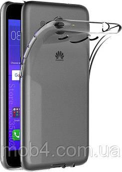 Прозорий силіконовий чохол бампер накладка для Huawei (Хуавей) Y3 2017