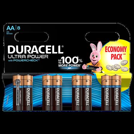 Батарейка DURACELL LR06 KPD 08*12 Ultra уп. 1x8 шт., фото 2
