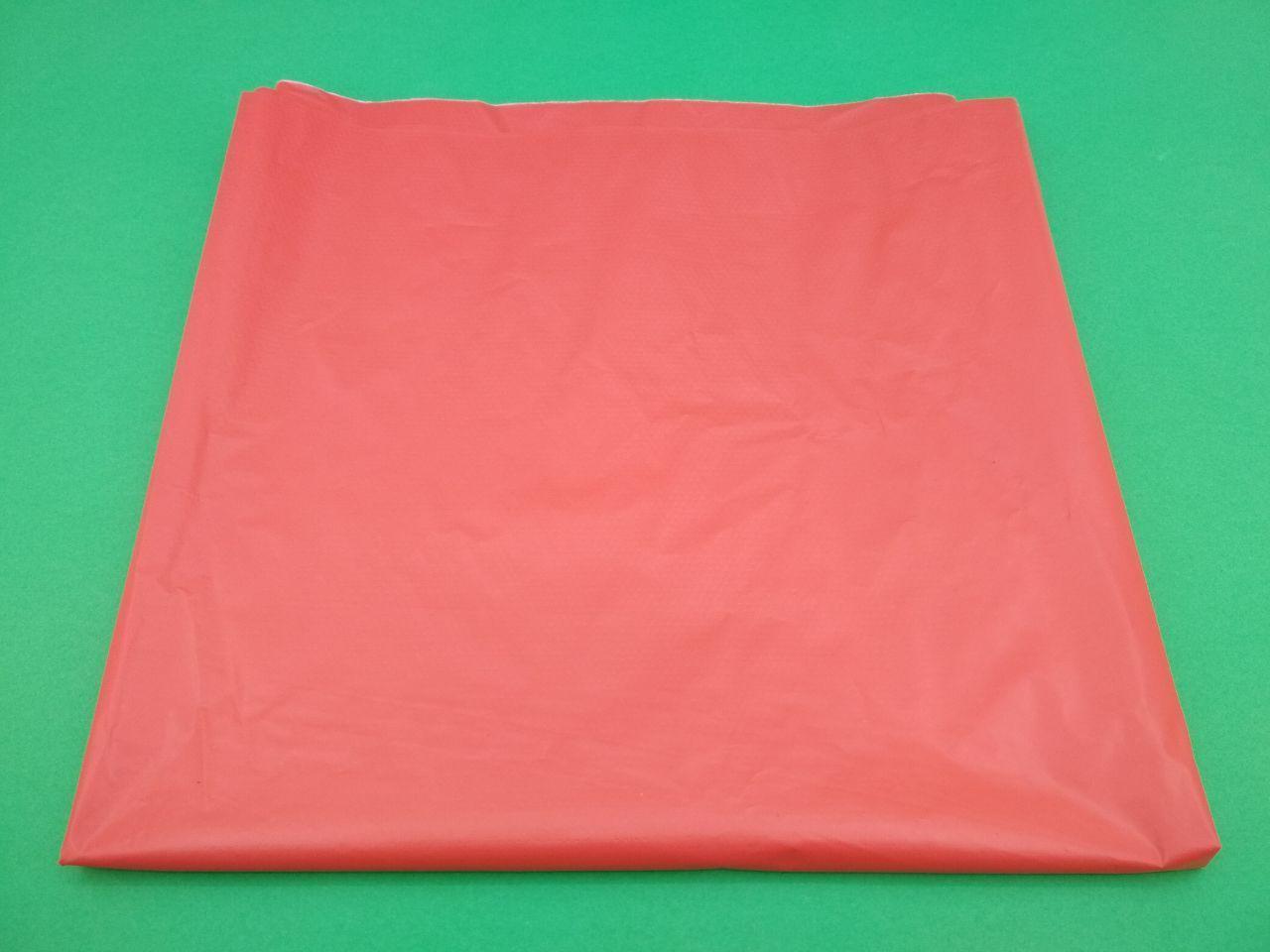 Скатерка (105x200) Однотонная КРАСНАЯ (25 шт)