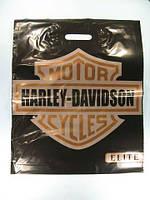 """Пакет з прорізною ручкою(40*50)Elite """"Харлей""""Леомі (50 шт)"""