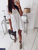 Платье белое молодежное 2 расцветки