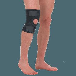 Наколінник, бандаж на коліно роз'ємний Т-8511 (ортез, фіксатор на колінний суглоб)