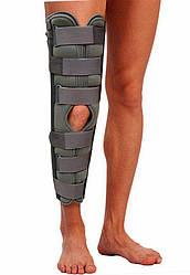 Тутор на колено Т-8506  (бандаж для иммобилизации,  фиксатор на коленный сустав)