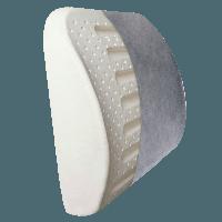 Подушка под поясницу ортопедическая ТОП-227 (подушка для спины, под спину)