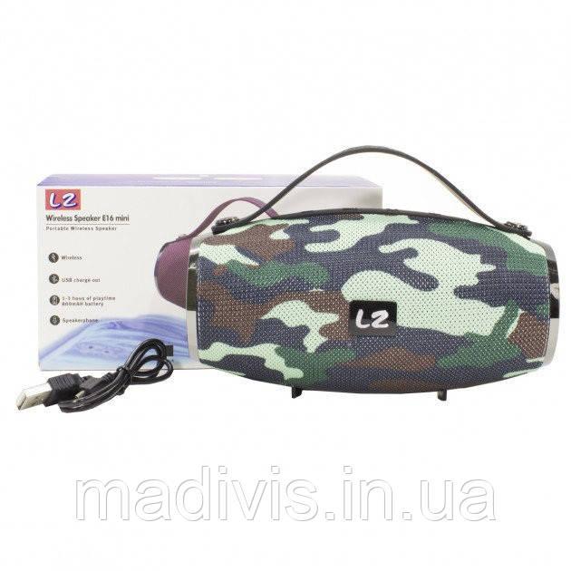 Портативная колонка L2 E16 BIG, мобильная колонка, радиоприемник, Bluetooth