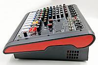 Активний мікшер JB Sound JB-600P JB sound  6 каналів,  2х170Вт на 4Ом, фото 1