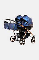 Дитяча коляска для двійнят Junama Fluo Line Duo, фото 1