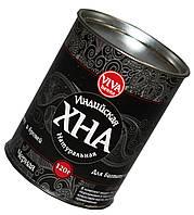 Хна для био тату и бровей VIVA (120г) с кокосовым маслом, черная