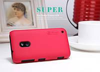 Чехол Nillkin для Nokia Lumia 620 красный (+пленка)