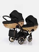 Дитяча коляска для двійнят Junama Mirror Satin Duo Slim 03, фото 1