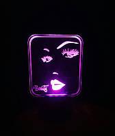 Ночник Beauty Красота на батарейке Светляччок (00137)