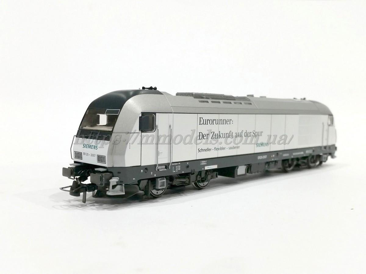 Roco 62831 тепловоз серии EP20-2007 Siemens Eurorunner / 1:87